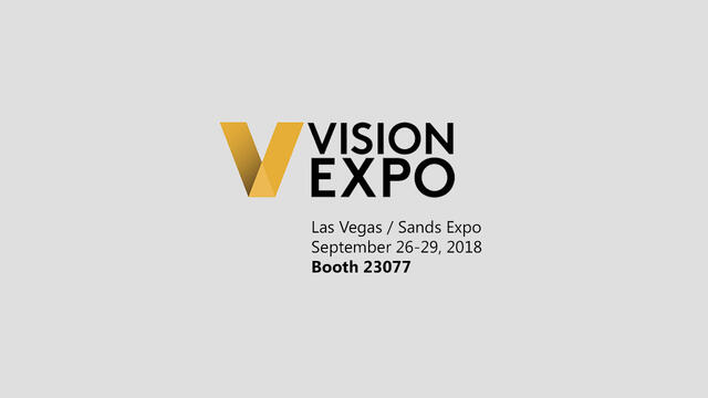 Vision Expo West 2018