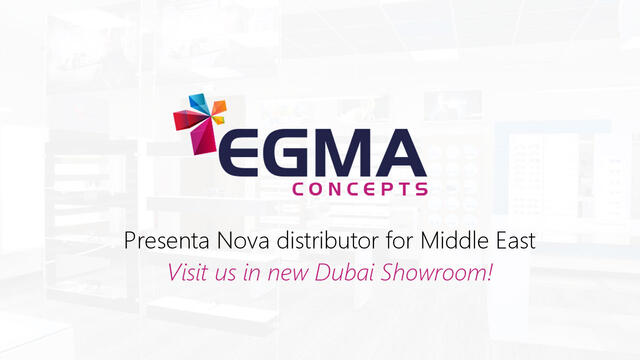 Presenta Nova & Egma join forces for the Middle East market!
